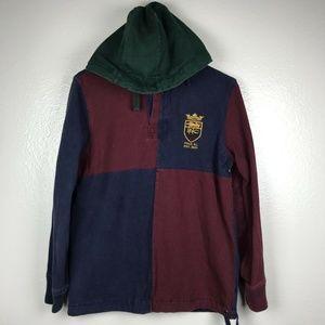Polo Ralph Lauren Color Block Hoodie Sweatshirt